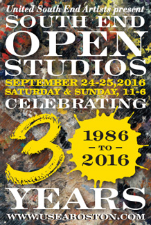 USEA South End Open Studios 30th Anniversary in 2016